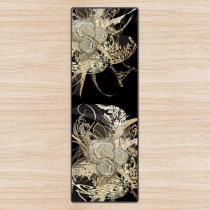Yoga Mat - Yogamatta - 50 shades of lace black