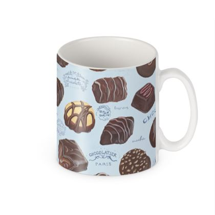 Delectable Chocolates Builders Mugs