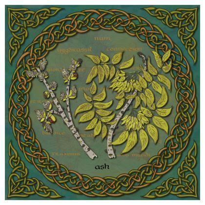Celtic Ash Tree Coasters