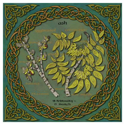 Tree Calendar Ash Tree Coasters