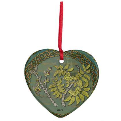 Celtic Ash Hanging Ornament
