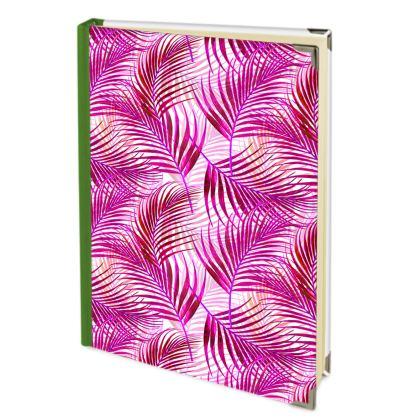 Tropical Garden Collection in Magenta Address Book