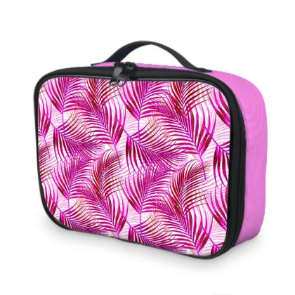 Tropical Garden Collection in Magenta Lunch Bags