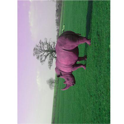 Towels - Pink Rhino
