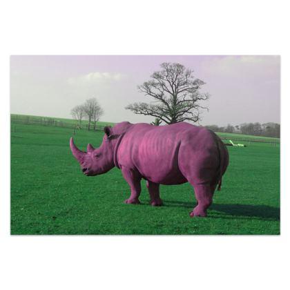 Sarong - Pink Rhino