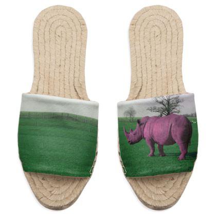 Sandal Espadrilles - Pink Rhino