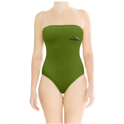 Strapless Swimsuit - Mantis