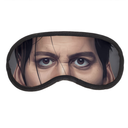 Johnny Depp Celebrity Caricature Eye Mask