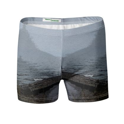 Swimming Trunks - Whitby Sea