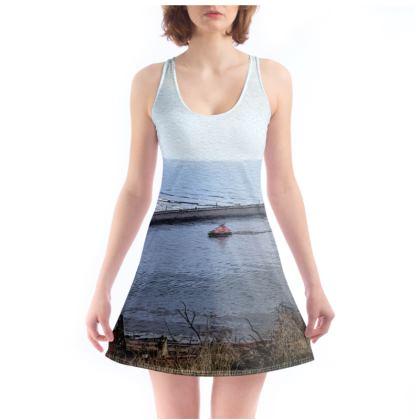 Beach Dress - Whitby Sea