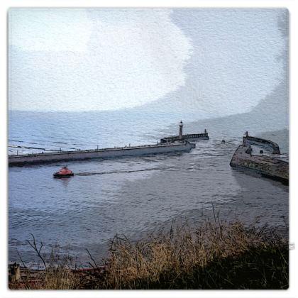 Picnic Blanket - Whitby Sea