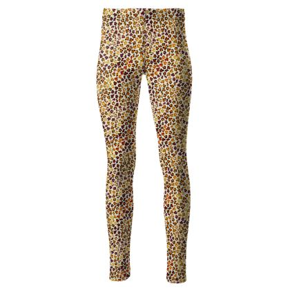 Leopard Skin Collection High Waisted Leggings