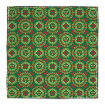 Christmas Brussels sprouts napkin