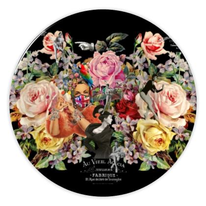 Nuit des Roses 2020 China Plate