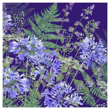 Agapanthus Medley Cushion