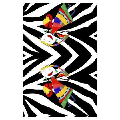 Zebra Fairy Slip Dress