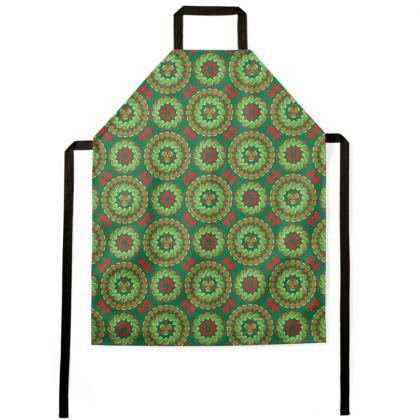 Christmas Brussels sprouts pattern apron
