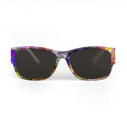 Sunglasses - Paint Explosion