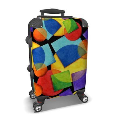 Rainbow Rave Suitcase