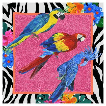 Birds of Paradise Scarf or Shawl