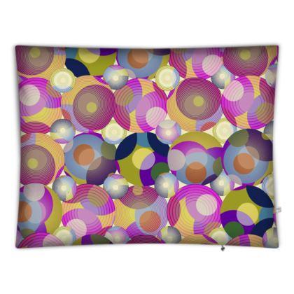 Moon Collection on cream Floor Cushions