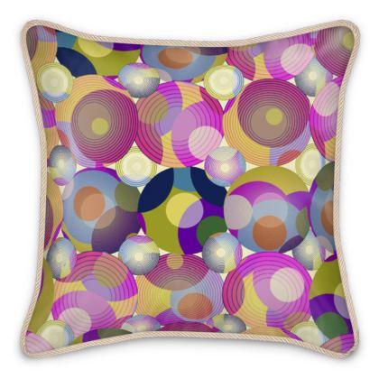 Moon Collection on cream Silk Cushions