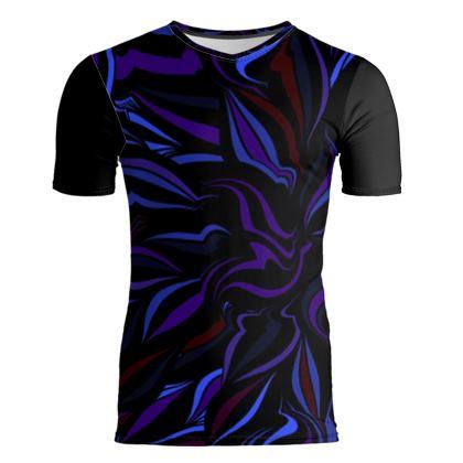 T-Shirt attillata linea riflessi