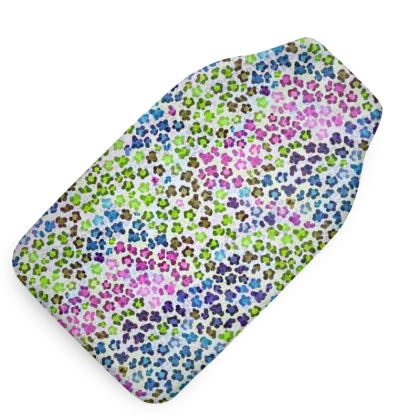 Leopard Skin Multicoloured Collection Hot Water Bottle