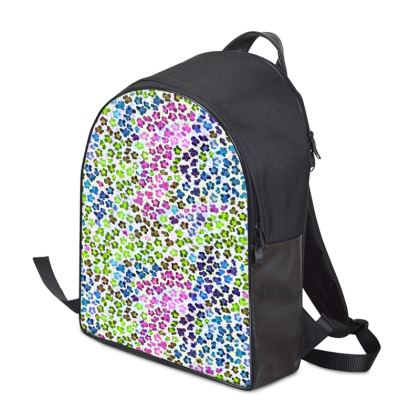 Leopard Skin Multicoloured Collection Backpack