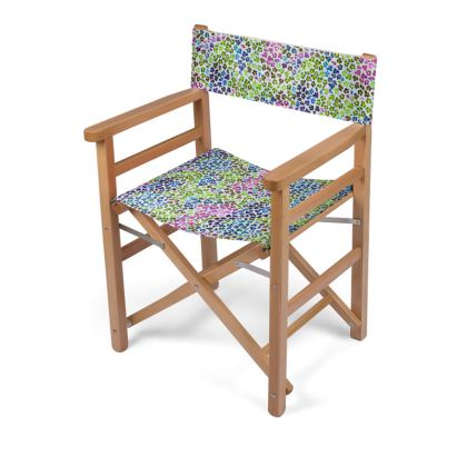 Leopard Skin Multicoloured Collection Directors Chair