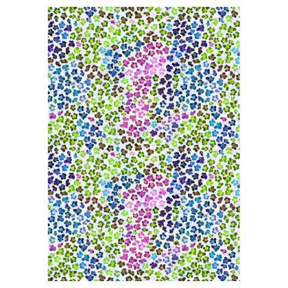 Leopard Skin Multicoloured Collection Double Deckchair
