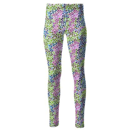 Leopard Skin Multicoloured Collection High Waisted Leggings