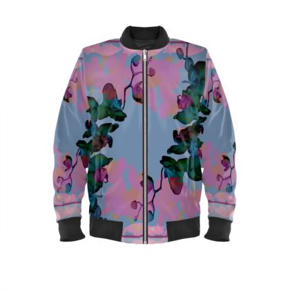 BLUE ORCHID bomber