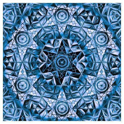 Cube Blue Kaleidoscope