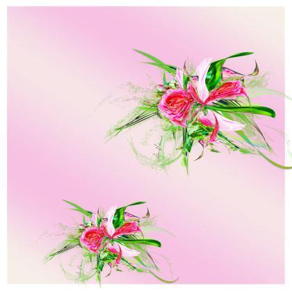 Kimono - Pastells pink gradient