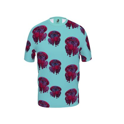 Mens all over print Jellyfish T Shirt