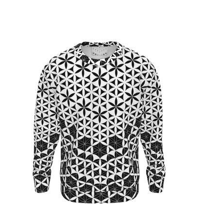 Sweatshirt Flower Of Life Pattern 1