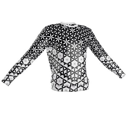 Sweatshirt Flower Of Life Pattern 2