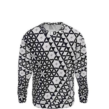 Sweatshirt Flower Of Life Pattern 3