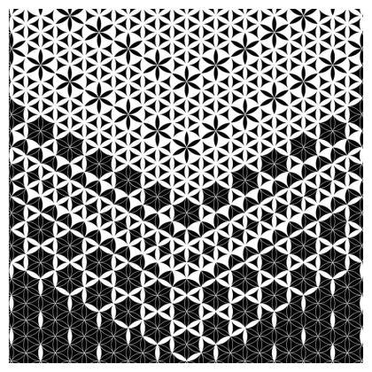 Socks Flower Of Life Patern 1