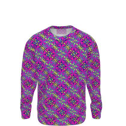 Sweatshirt Tile Purple