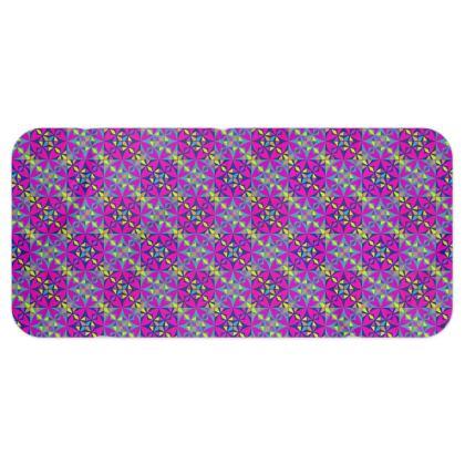 Blanket Scarf Tile Purple