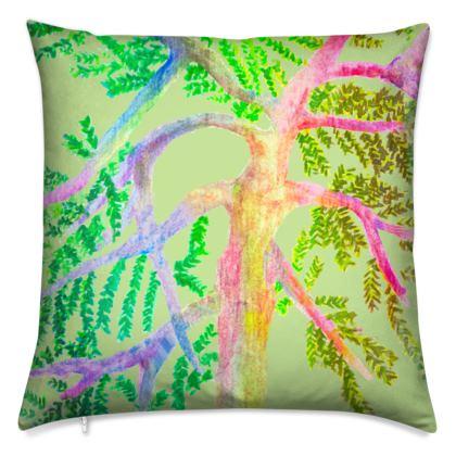 Luxury Cushion- Green