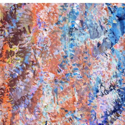 Slip Dress Watercolor Texture 1
