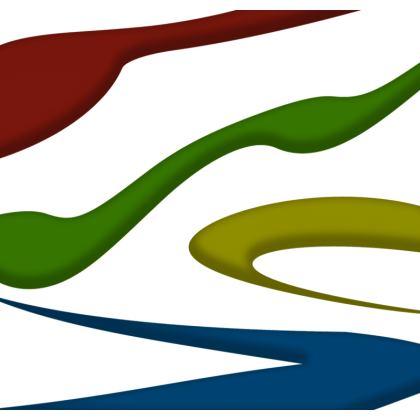 Men's Swimming Shorts - Simple Colours (White)
