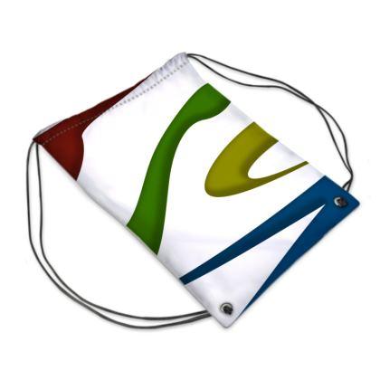 Swim Bag -Simple Colours (White)