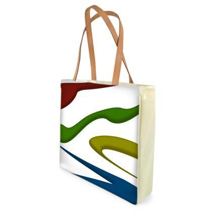 Beach Bag - Simple Colours (White)
