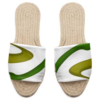 Sandal Espadrilles - Simple Colours (White)