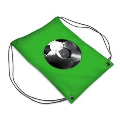 Swim Bag - Football Vinyl
