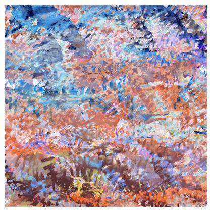 Skater Dress Watercolor Texture 1